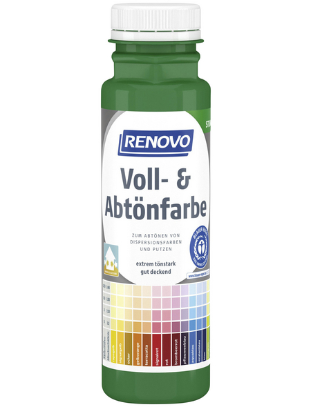 RENOVO Voll- und Abtönfarbe, grün, 250 ml