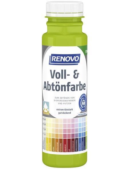 RENOVO Voll- und Abtönfarbe, maigrün, 250 ml