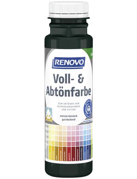 RENOVO Voll- und Abtönfarbe, moosgrün, 250 ml