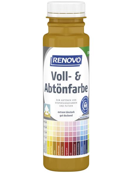 RENOVO Voll- und Abtönfarbe, ocker, 250 ml