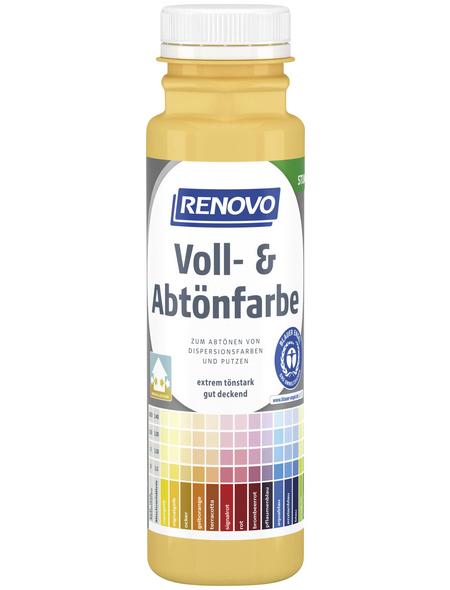 RENOVO Voll- und Abtönfarbe, signalgelb, 250 ml