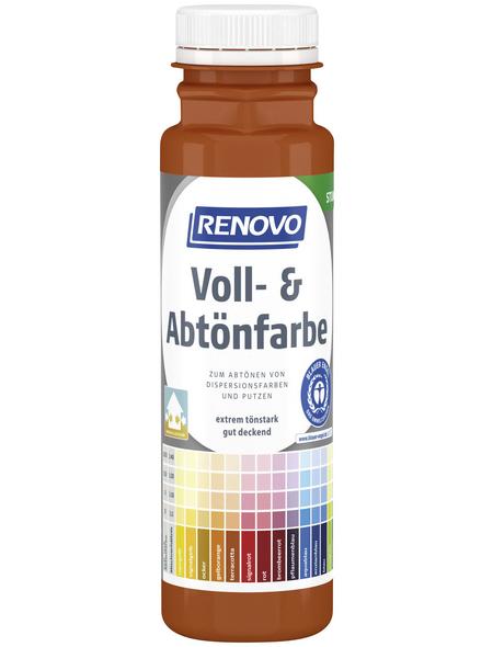 RENOVO Voll- und Abtönfarbe, terracotta, 250 ml
