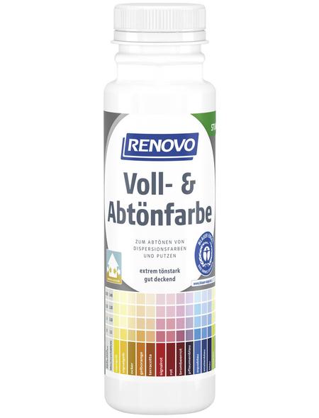 RENOVO Voll- und Abtönfarbe, weiß, 250 ml