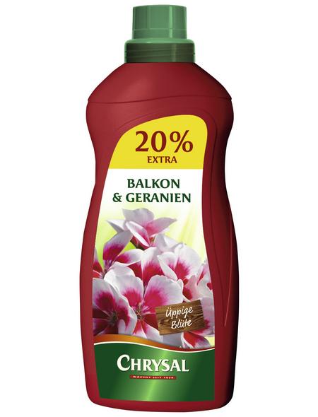 Chrysal Volldünger »9323«, NPK-Dünger, flüssig, für Balkonpflanzen und Geranien