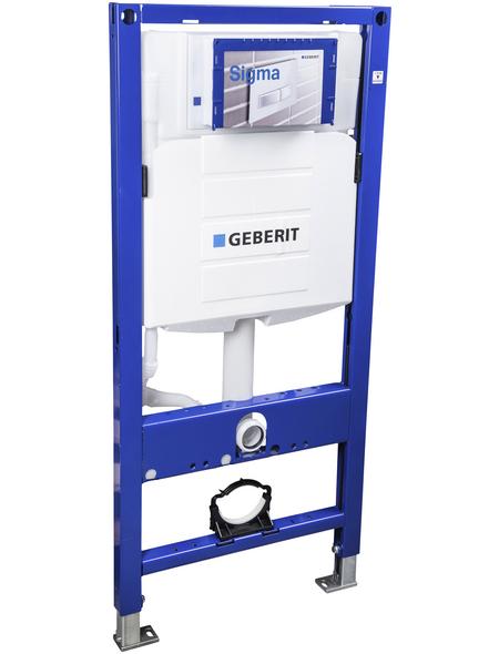 GEBERIT Vorwandelement für WC »Duofix«, BxH: 54 x 114 cm, weiß/blau