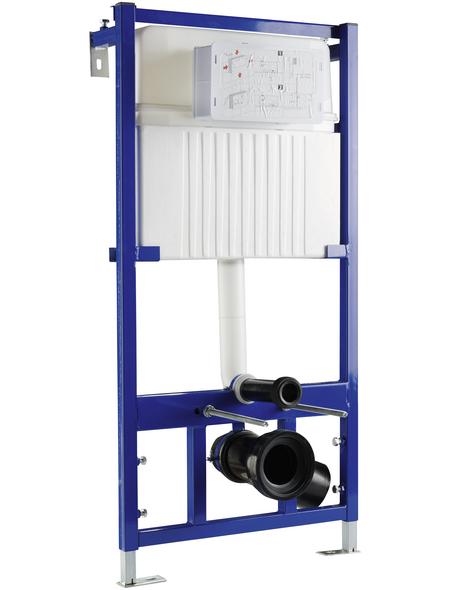 SANITOP-WINGENROTH Vorwandelement »Sense«, BxHxT: 550 x 1000 x 115 mm, blau/weiß