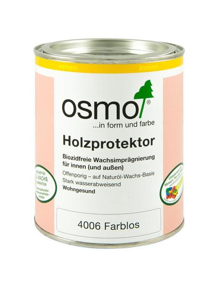 OSMO Wachsimprägnierung, für innen & außen, 0,75 l, farblos, seidenmatt