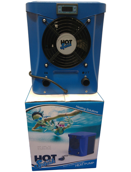 AQUALUX Wärmepumpe »Hot Splash 2,4 kW«, 585 W, geeignet für Pools bis 10.000  l