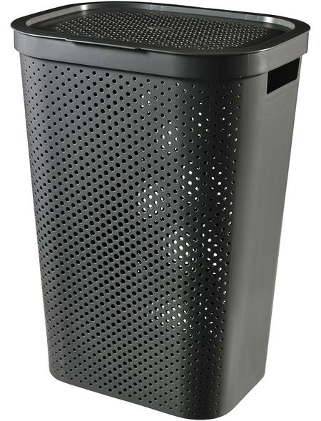 Wäschebox, BxHxL: 43,7 x 60,2 x 35,1 cm, Kunststoff