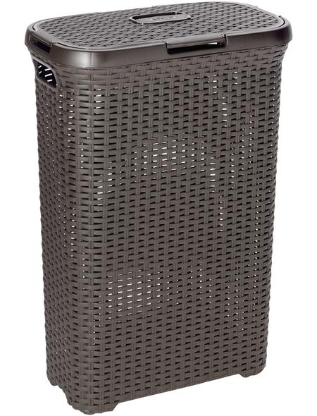 Wäschebox, BxHxL: 44,7 x 61,5 x 26,5 cm, Kunststoff