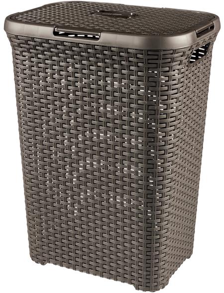 Wäschebox, BxHxL: 44,8 x 61,5 x 34,1 cm, Kunststoff