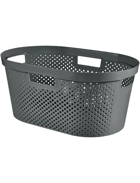 Wäschebox, BxHxL: 58,5 x 26,5 x 38,5 cm, Kunststoff