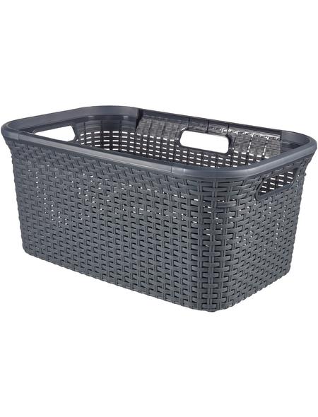 Wäschebox, BxHxL: 59,2 x 27 x 38 cm, Kunststoff