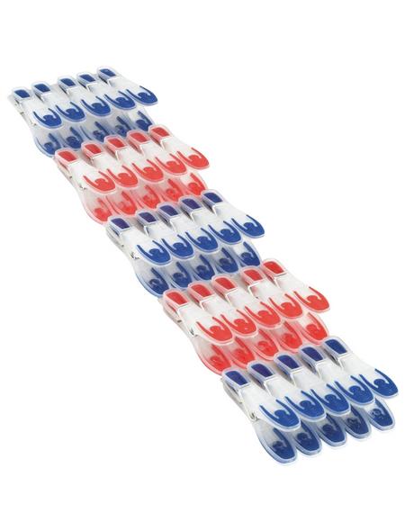 LEIFHEIT Wäscheklammern, Breite: 3 cm, Kunststoff/Federstahl