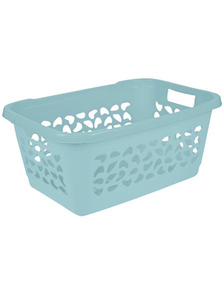 KEEEPER Wäschekorb »Jost«, 52 l, aqua blue