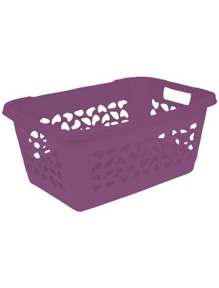 KEEEPER Wäschekorb »Jost«, 52 l, berry