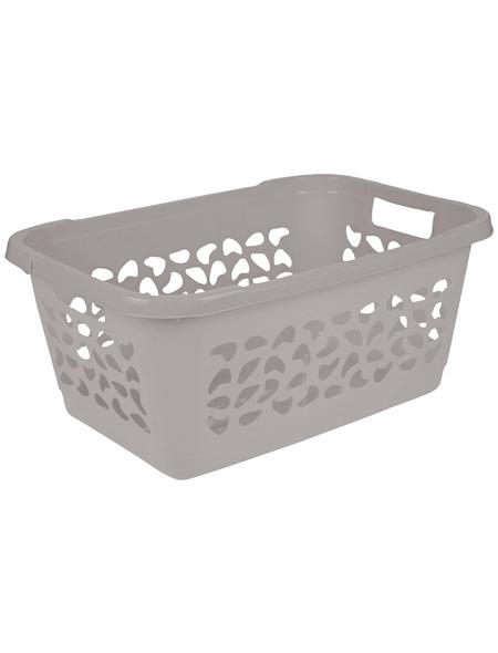 KEEEPER Wäschekorb »Jost«, 52 l, urban grey