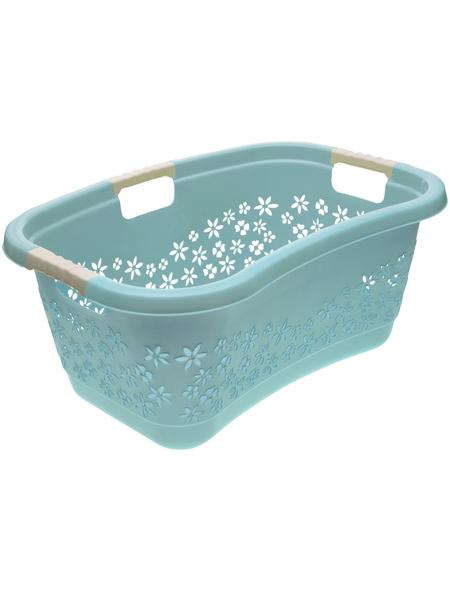KEEEPER Wäschekorb »Lasse«, 50 l, aqua blue