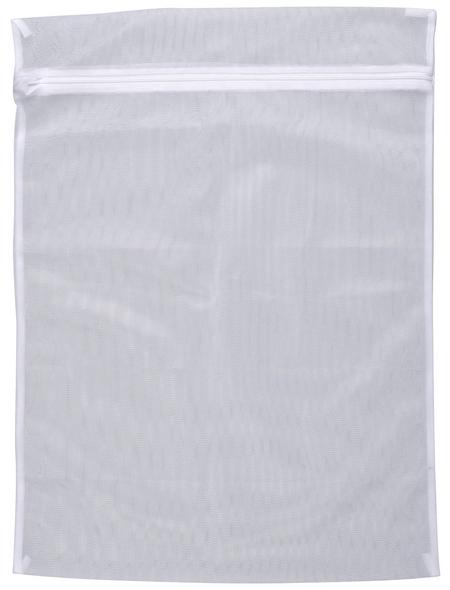 WENKO Wäschenetz, BxHxL: 5 x 0,01 x 70 cm, Polyester, weiß