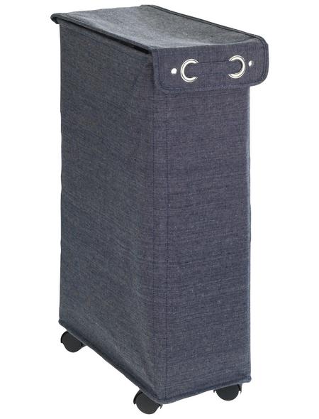 WENKO Wäschesammler, BxHxL: 18,5 x 60 x 40 cm, Polyester