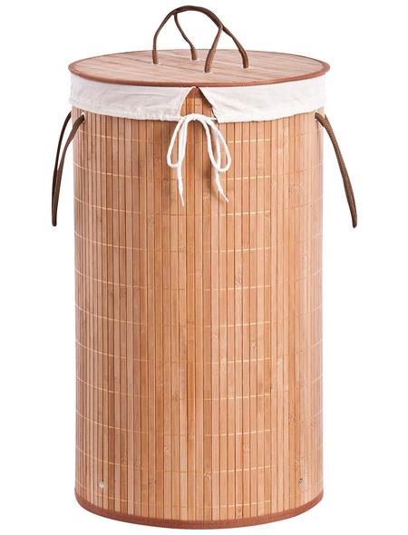 ZELLER Wäschesammler, Höhe: 60 cm, Holz
