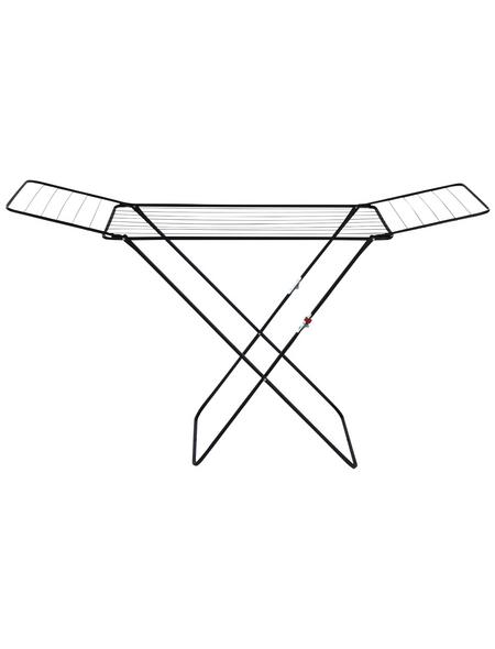 WENKO Wäschetrockner, BxHxL: 170 x 98 x 55 cm, pulverbeschichtetes Metall
