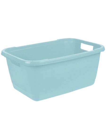 KEEEPER Wäschewanne »Aenna«, 52 l, aqua blue