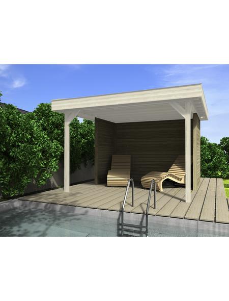 WEKA Wand-Set für Gartenhäuser, Holz