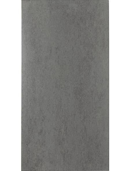 Wand- und Bodenfliese »Bari«, grau, matt, Presskante