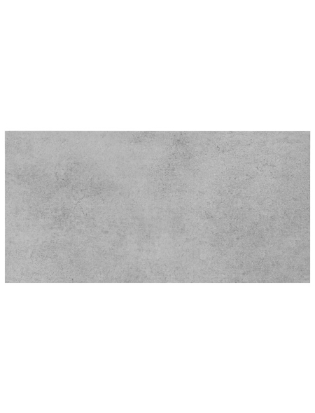 Wand- und Bodenfliese »Fog«, hellgrau, matt, Presskante