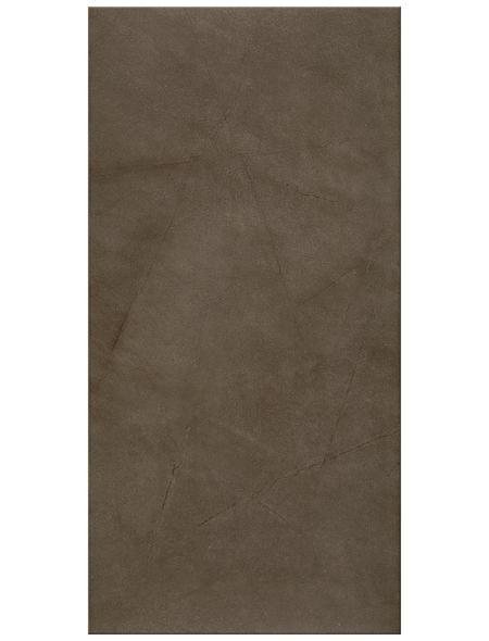 Wand- und Bodenfliese, mocca, matt, Presskante