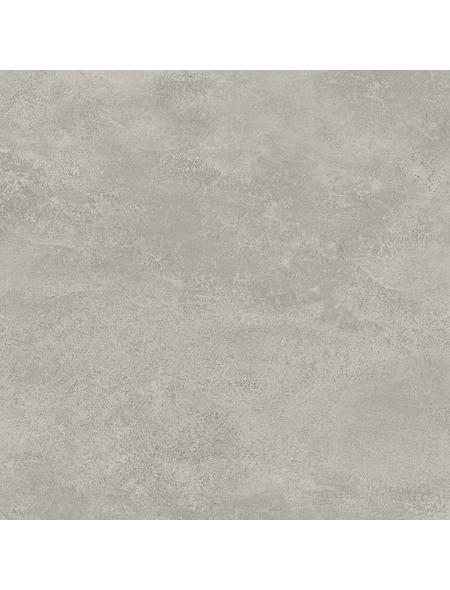 RENOVO Wand- und Bodenfliese »Stamford«, hellgrau, matt, rektifiziert