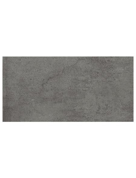 Wand- und Bodenfliese »Style«, anthrazit, matt, rektifiziert