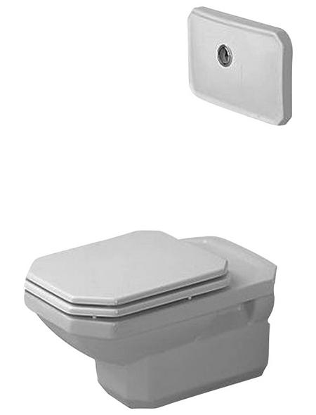 DURAVIT Wand WC »1930«, Tiefspüler, weiß, mit Spülrand