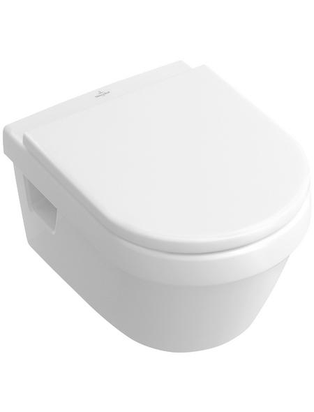 VILLEROY & BOCH Wand WC »Architectura«, Tiefspüler, alpinweiß