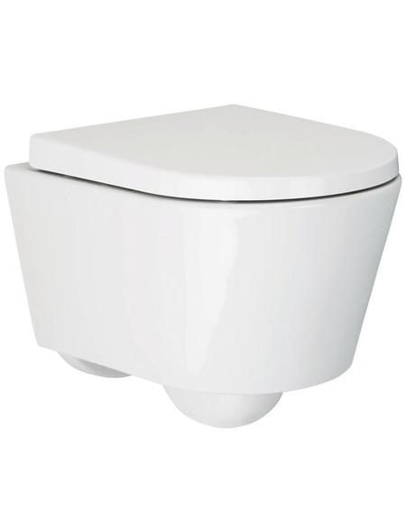 aquaSu® Wand WC »City Wand-WC-Set«