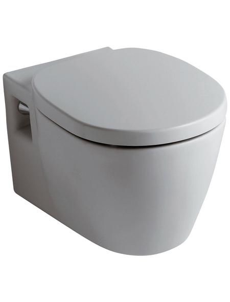 IDEAL STANDARD Wand WC »Connect«, Tiefspüler, weiß, mit Spülrand