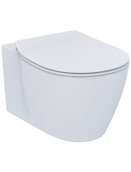 IDEAL STANDARD Wand WC »Connect«, weiß, mit Spülrand