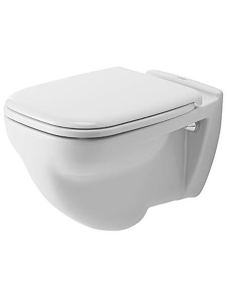 DURAVIT Wand WC »D-Code«, weiß, mit Spülrand
