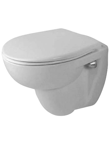 DURAVIT Wand WC »Duraplus«, Tiefspüler, weiß