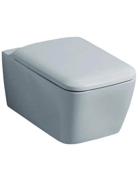 GEBERIT Wand WC »iCon Square«, Tiefspüler, weiß