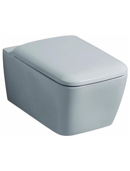GEBERIT Wand WC »iCon«, Tiefspüler, weiß, Spülrandlos
