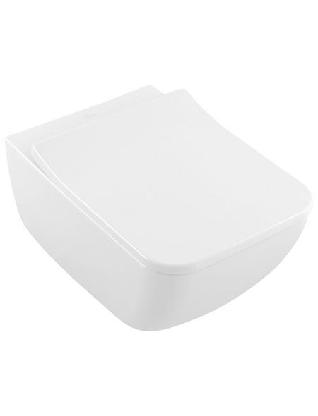 VILLEROY & BOCH Wand WC »Legato«, Tiefspüler, alpinweiß