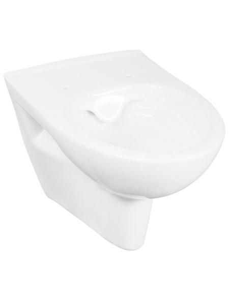 CORNAT Wand WC »MONTEGO«, Tiefspüler, weiß, Spülrandlos