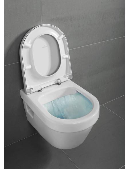 VILLEROY & BOCH Wand WC »OMNIA architectura«, Tiefspüler, alpinweiß