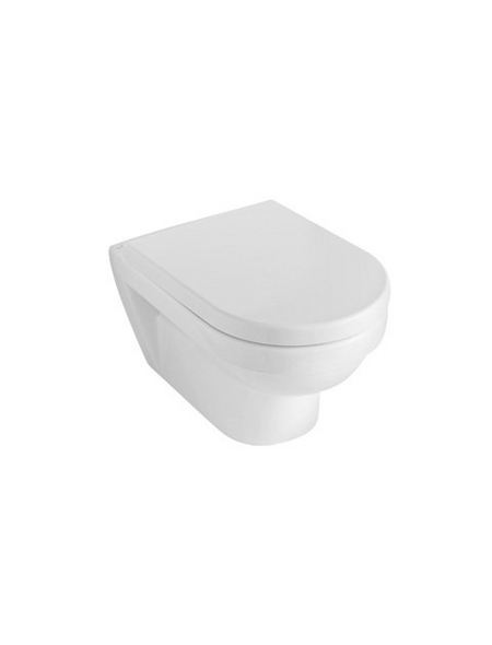 VILLEROY & BOCH Wand WC »OMNIA architectura«, Tiefspüler, alpinweiß, mit Spülrand