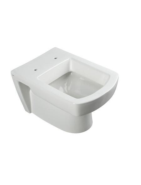 CORNAT Wand WC »Ondo«, Tiefspüler, weiß, mit Spülrand