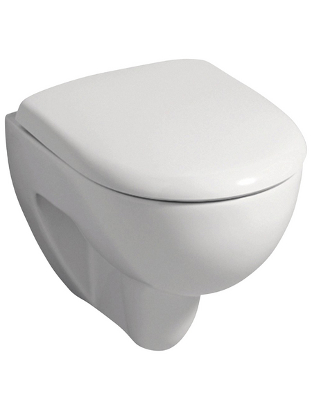 GEBERIT Wand WC »Renova Compact«, Tiefspüler, weiß