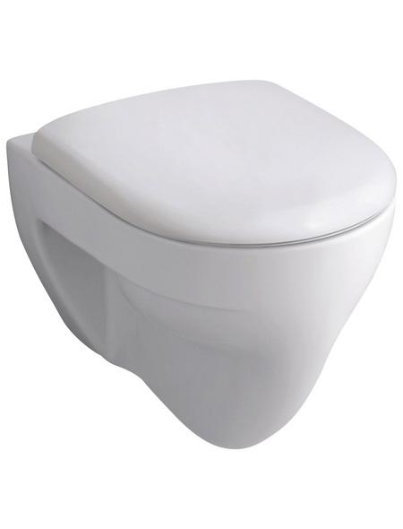 GEBERIT Wand WC »Renova«, Flachspüler, weiß