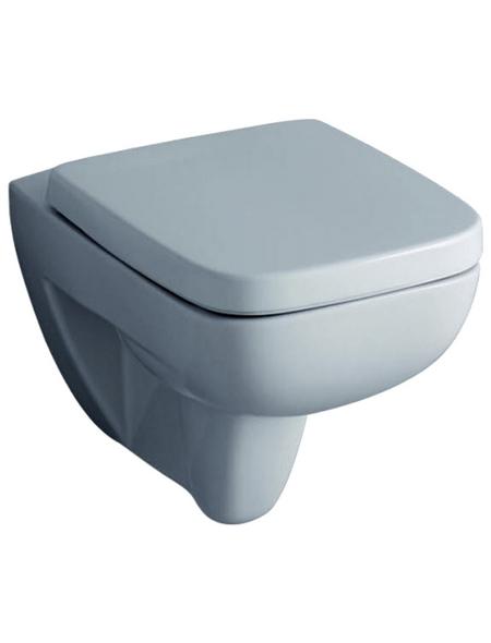 GEBERIT Wand WC »Renova Nr. 1«, Tiefspüler, weiß, mit Spülrand